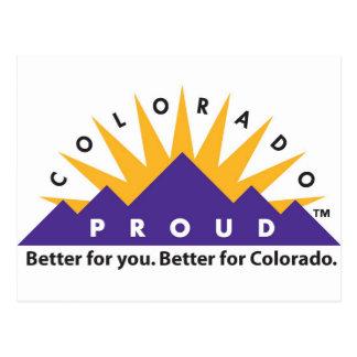 Cartão Postal Colorado orgulhoso