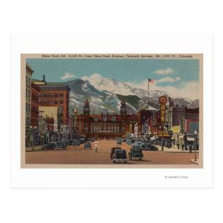 Cartão Postal Colorado Springs, CO