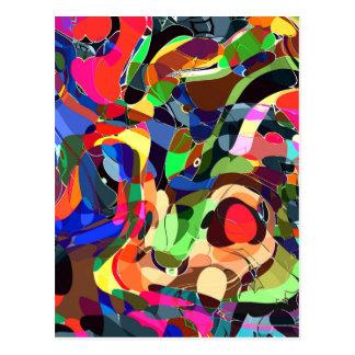Cartão Postal Colore o mashup