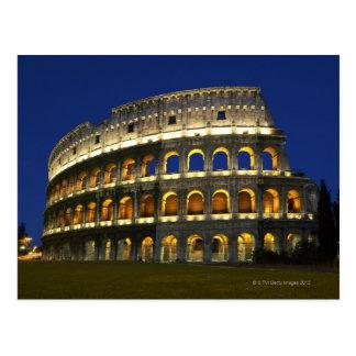 Cartão Postal Colosseum romano, Roma, Italia 3