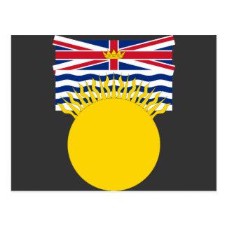 Cartão Postal Columbia Britânica, Canadá