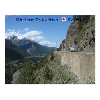 Cartão Postal Columbia Britânica Canadá