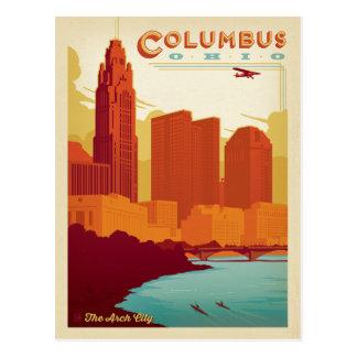 Cartão Postal Columbo, OH