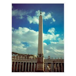 Cartão Postal Coluna da Cidade do Vaticano