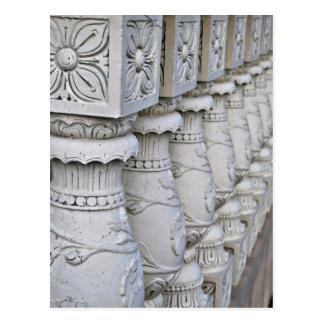 Cartão Postal Colunas arquitectónicas romanas