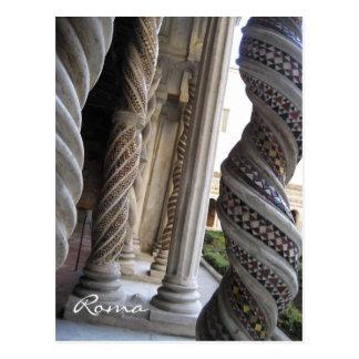 Cartão Postal Colunas de St Paul