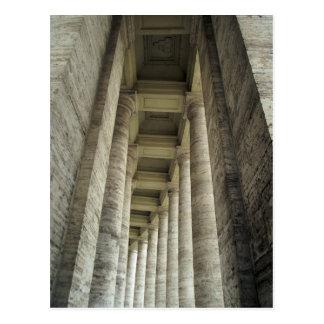 Cartão Postal Colunas do vaticano