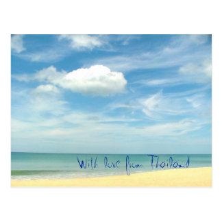 Cartão Postal Com amor de Tailândia