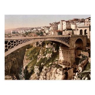 Cartão Postal Com grande ponte, pH do clássico de Constantim,