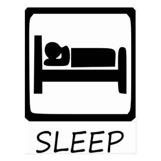 CARTÃO POSTAL COMA SLEEP33