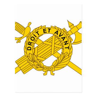 Cartão Postal Comando médico militar comum do EL dos EUA