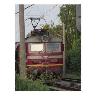 Cartão Postal Comboio de mercadorias búlgaro