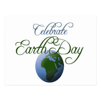 Cartão Postal Comemore o Dia da Terra