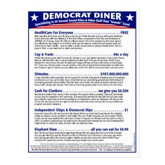 Cartão Postal Comensal de Democrata