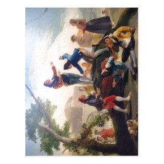 Cartão Postal Cometa do La (1778). Pintor Goya. De autor imagen: