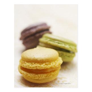 Cartão Postal Comida, comida e bebida, sobremesa, biscoito,
