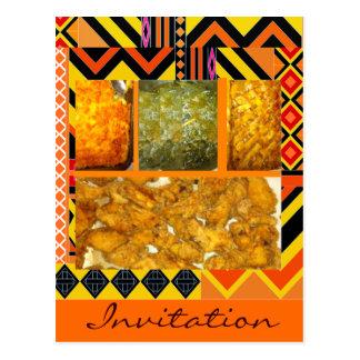 Cartão Postal Comida do sul da alma, comida do sul da alma,