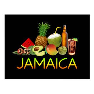 Cartão Postal Comida jamaicana