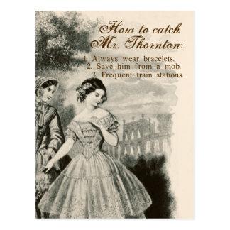 Cartão Postal Como travar o Sr. Thornton
