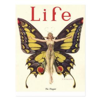 Cartão Postal Compartimento da vida