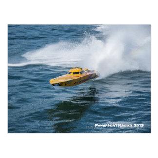 Cartão Postal Competência do Powerboat
