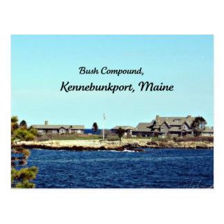 Cartão Postal Composto de Bush, Kennebunkport, Maine