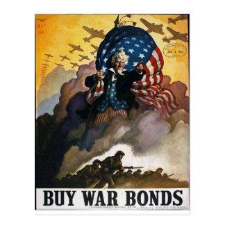 Cartão Postal Compre ligações de guerra!