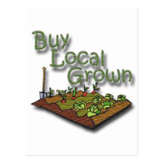 Cartão Postal Compre o produto crescido Local