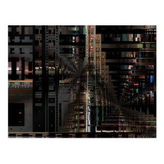 Cartão Postal Computador eletrônico de conselho de circuito de