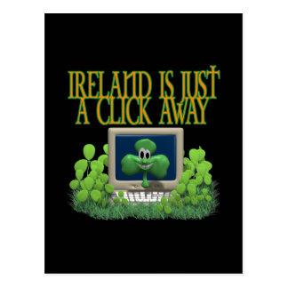 Cartão Postal Computador irlandês
