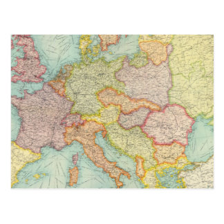 Cartão Postal Comunicações compostas de Europa