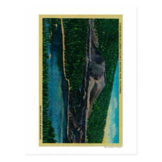Cartão Postal Cone da cinza no parque nacional vulcânico de