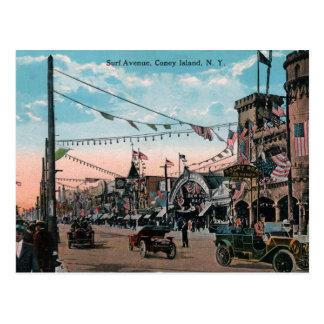 Cartão Postal Coney Island
