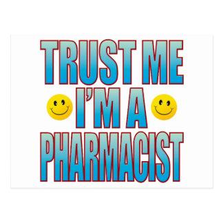 Cartão Postal Confie-me a vida B do farmacêutico