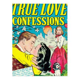 Cartão Postal Confissões verdadeiras do amor