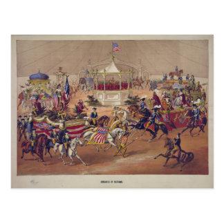 Cartão Postal Congresso das nações (1875)