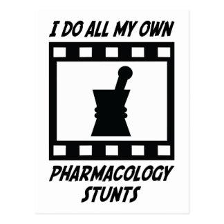 Cartão Postal Conluios da farmacologia