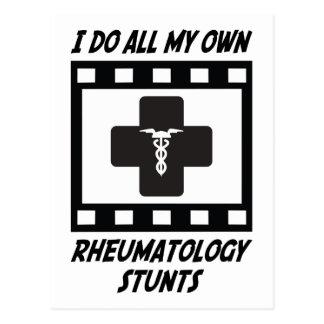 Cartão Postal Conluios da reumatologia