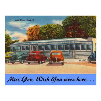 Cartão Postal Connecticut, comensal de Makris