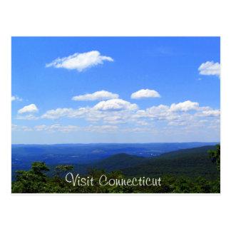 Cartão Postal Connecticut elevado