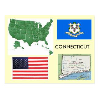 Cartão Postal Connecticut, EUA