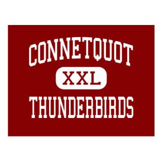 Cartão Postal Connetquot - Thunderbirds - alto - Boémia