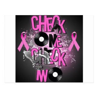 Cartão Postal Consciência do cancro da mama