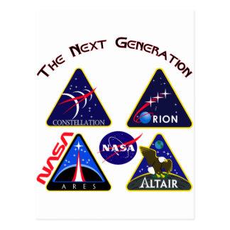 Cartão Postal Constelação: A próxima geração