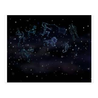 Cartão Postal Constelações