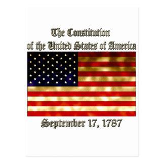 Cartão Postal Constituição dos E.U.