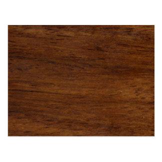 Cartão Postal Construção áspera da textura de madeira