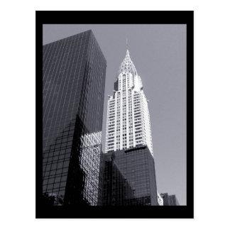 Cartão Postal Construção de NYC Chrysler