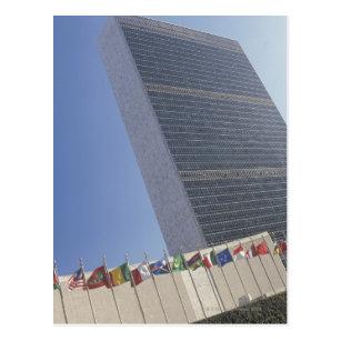 Cartão Postal Construção de United Nations