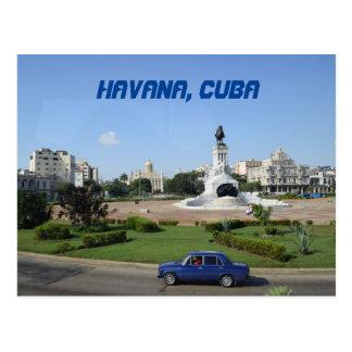 Cartão Postal Construção do governo do EL Capitolio de Havana